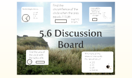 5.6 Discussion Board