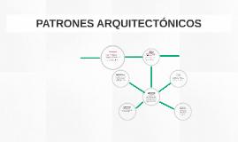 PATRONES ARQUITECTÓNICOS