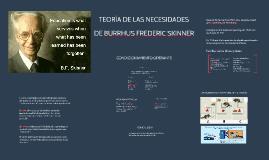 Copy of Teoría de las necesidades de Skinner