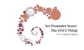 Net Promoter Score: