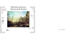 Copy of ELEMENTOS PARA UNA HISTORIA DE LA GESTIÓN