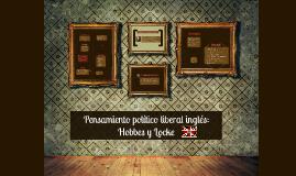 Copy of Pensamiento político liberal inglés: