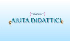 """Aiuta Didattici """"Ayudas para el Aprendizaje"""""""