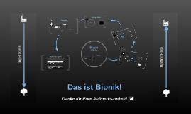 Was ist Bionik?