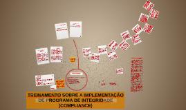 TREINAMENTO SOBRE A IMPLEMENTAÇÃO DE PROGRAMA DE INTEGRIDADE