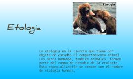 Zoologia  Etologia