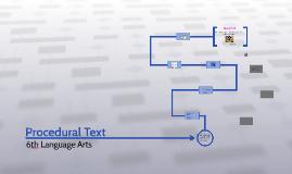 Copy of Procedural Text