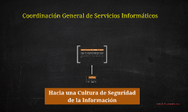 Cultura de Seguridad de la Información