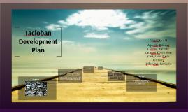 Tacloban Development Plan