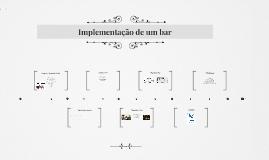 Implementação de um bar