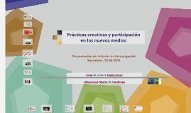 Copy of Prácticas creativas y praticipación