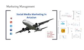 Social Media Marketing in Aviation