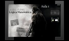 Lógica Matemática - Aula 01