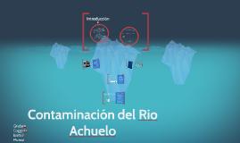 Contaminación del Rio Achuelo