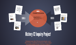 History 12 Inquiry Project
