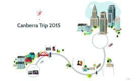 Canberra Trip 2015