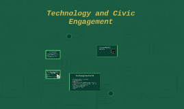 Technology and Civic Engagement