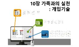 10장. 가족과의 실천_개입기술