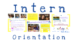 SJSU Department of Special Education: Intern Option