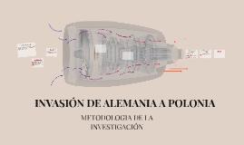 INVASIÓN DE ALEMANIA A POLONIA