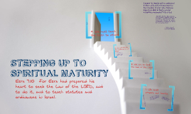 Stepping Up to Spiritual Maturity