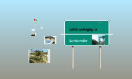 SALIDA PEDAGOGICA