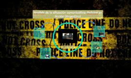 Analisis de la situación comunicativa: Policias en Acción (A