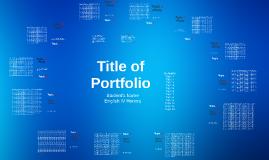 Portfolio Diagram
