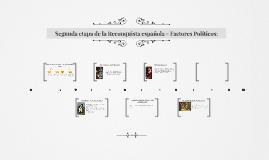 Segunda etapa de la Reconquista española - Factores Politico