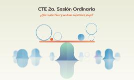CTE 2a. Sesión Ordinaria