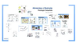 Alimentos e Nutrição - Fisiologia Comparada