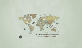 Gov't Ch. 17 (Foreign Policy) Presentation