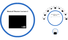 Musical Theater Lecture 2