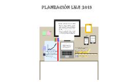 PLANEACÓN LMJI 2013