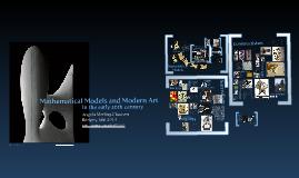 Models and Modern Art: Bridges Presentation