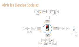 Copy of Abrir las Ciencias Sociales