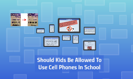 Should Kids Be Allowed To Use Cell Phones In School