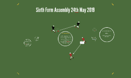 Sixth Form Assembly 24th May 2019