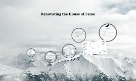Renovating the House of Fame