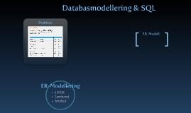 Databasmodellering och SQL