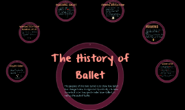 The History of Ballet: Time Tunnel
