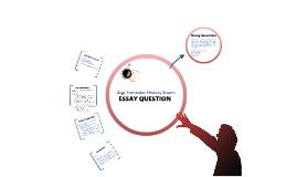 2nd Trimester History Exam: Essay