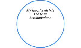 My favorite dish is The Mute Santanderiano