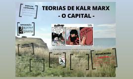 Teorias e O Capital de Kalr Marx