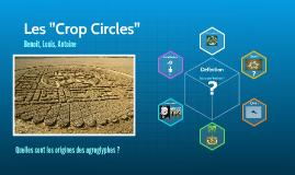 """Les """"Crop Circles"""""""