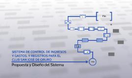 SISTEMA DE CONTROL DE INGRESOS Y GASTOS, Y REGISTROS PARA EL