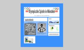 Olympische Spiele in München