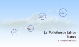 La  Pollution de l'air en france