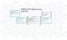 FOREG Mezzocorona 2017/18