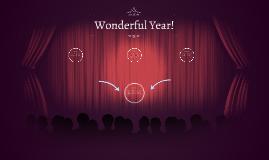 Wonderful Year!